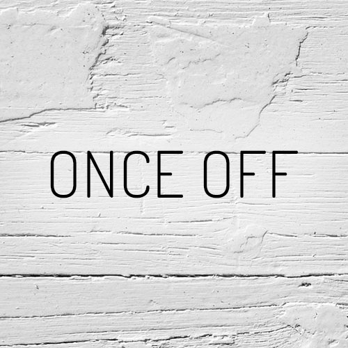 """Once-Off"""