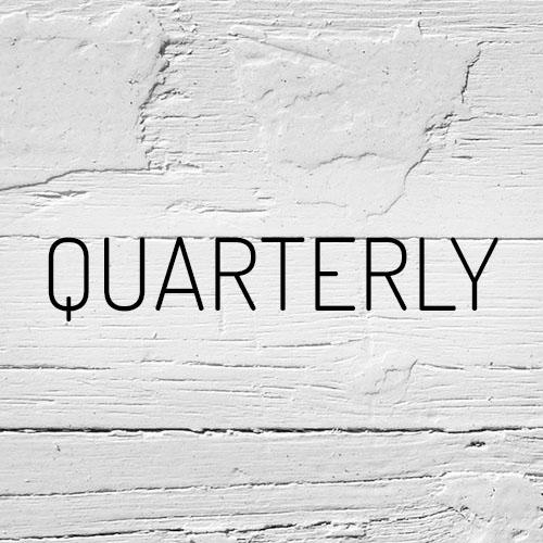 """""""Quarterly"""""""