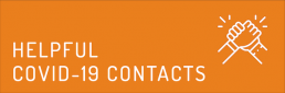 Helpful COVID-19 Contacts