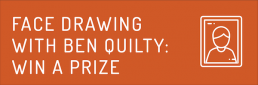 Face drawing with Ben Quilty: Win a Prize