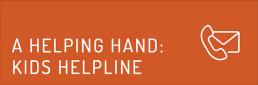 A helping hand: Kids Helpline