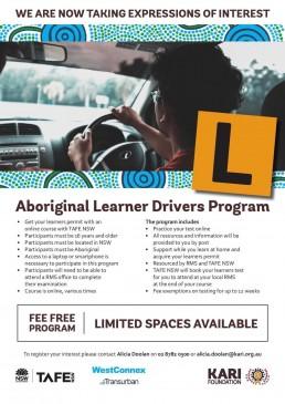 Aboriginal Learner Drivers Program