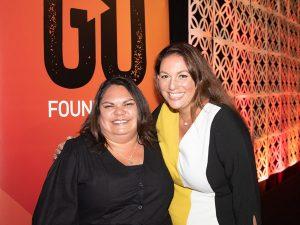 Charlene Davison with Sonja Stewart