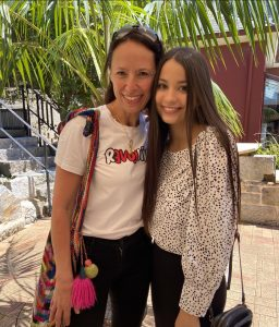 Natalie with her mentor and GO supporter, Lisa Sarzin