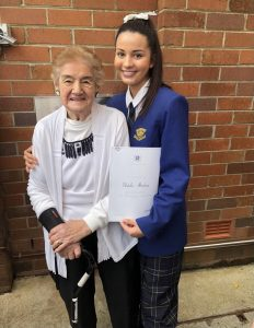 Natalie and her nan Jeanette